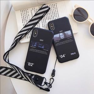 OFF WHITE IPHONE 11 CASE